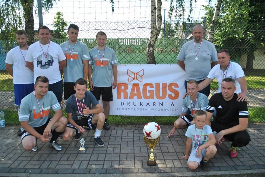 Drużyna Drukarni RAGUS w Turnieju o Puchar Posła na Sejm RP