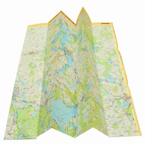 Druk i skład map, druk map do globusów
