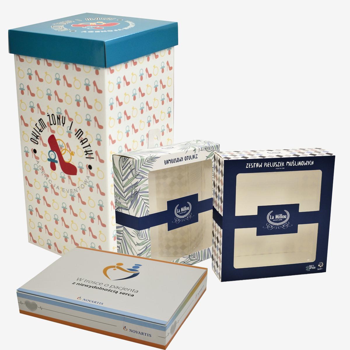Opakowania i papierowe torby ozdobne